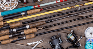Types of fishing rod