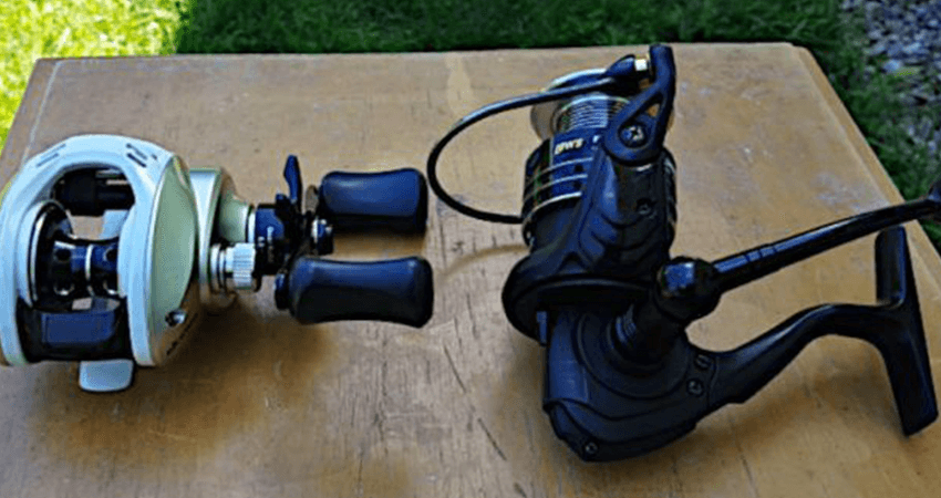 spinning reel vs baitcasting reel